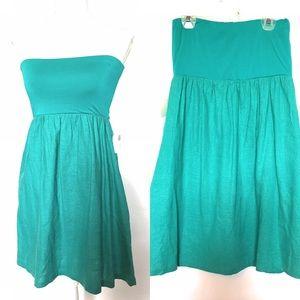 Impeccable pig maxi dress, medium, emerald green
